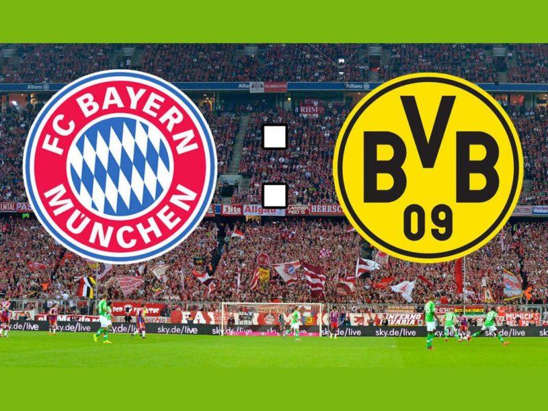 نتيجة مباراة بايرن ميونخ وبروسيا دورتموند الجولة 28 من الدوري الألماني 26-5-2020