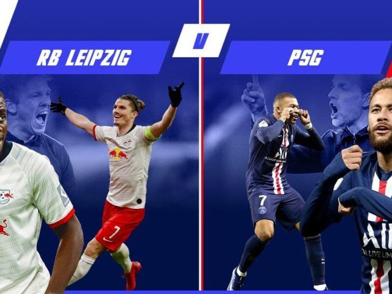 موعد مباراة باريس سان جيرمان ولايبزيج اليوم في نصف نهائي دوري أبطال أوروبا