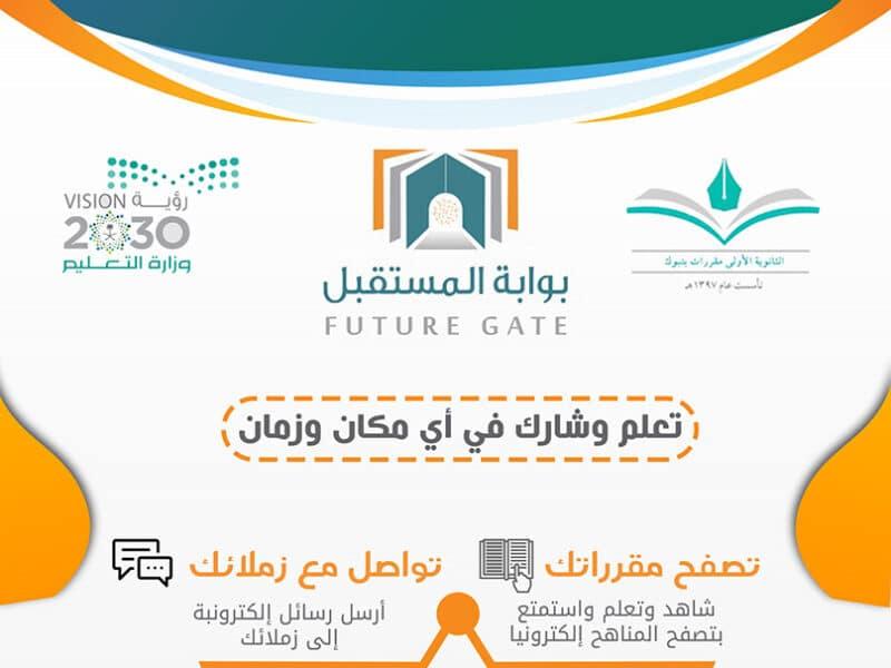 نظام نور بوابة المستقبل الطالب الاستعلام عن النتائج برقم الهوية 1442