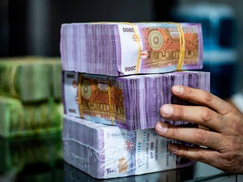 كم سعر الدولار في سوريا اليوم في السوق السوداء وأسعار العملات الأجنبية 12-12-2020