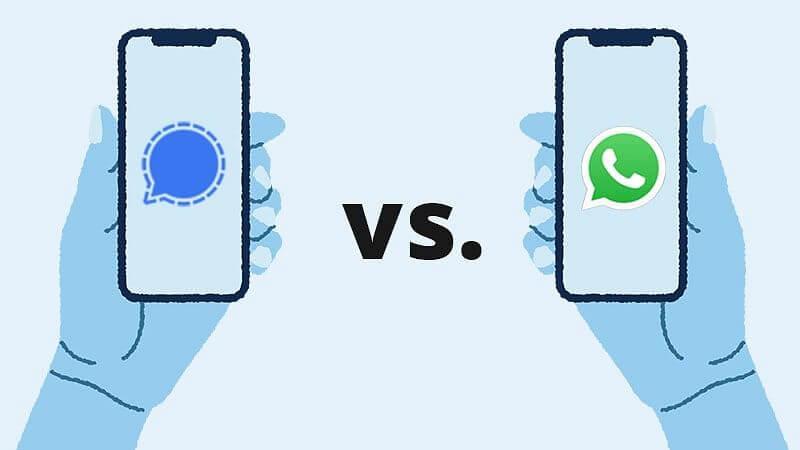 طريقة تحميل تطبيق سيجنال بديل الواتس signal وكيفية استخدامه